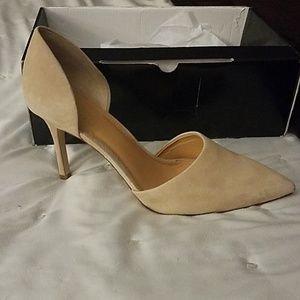 J.Crew D'orsay Lana pumps heels saddle women's 9